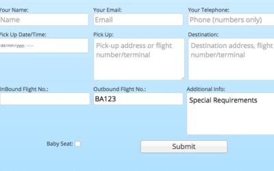 Custom Booking Form Fields