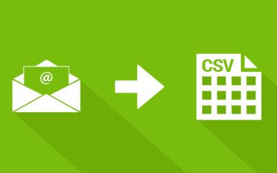 Receive booking data CSV