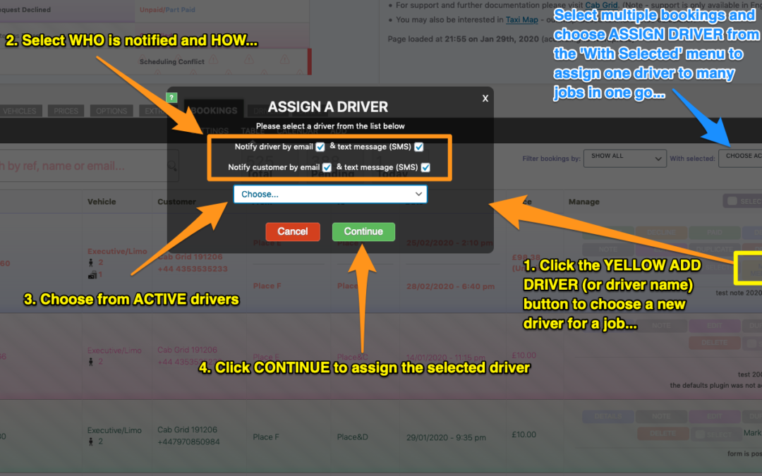 Driver Dispatch Add-on Setup